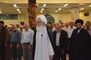 همایش مدافعان حرم در تهران با حضور آیت الله العظمی دوزدوزانی تبریزی