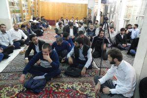 دیدار طلاب جمهوری آذربایجان با آیت الله العظمی دوزدوزانی تبریزی در آستانه ماه محرم