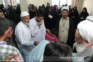 دیدار جمعی از مردم کشور پاکستان با آیت الله العظمی دوزدوزانی تبریزی