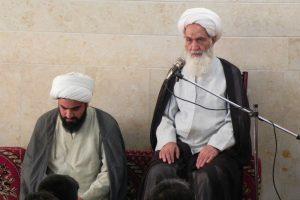 دیدار جمعی از مردم شهرستان لار با آیت الله العظمی دوزدوزانی تبریزی