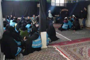دیدار جمعی از شیعیان ترکیه در اربعین با آیت الله العظمی دوزدوزانی تبریزی