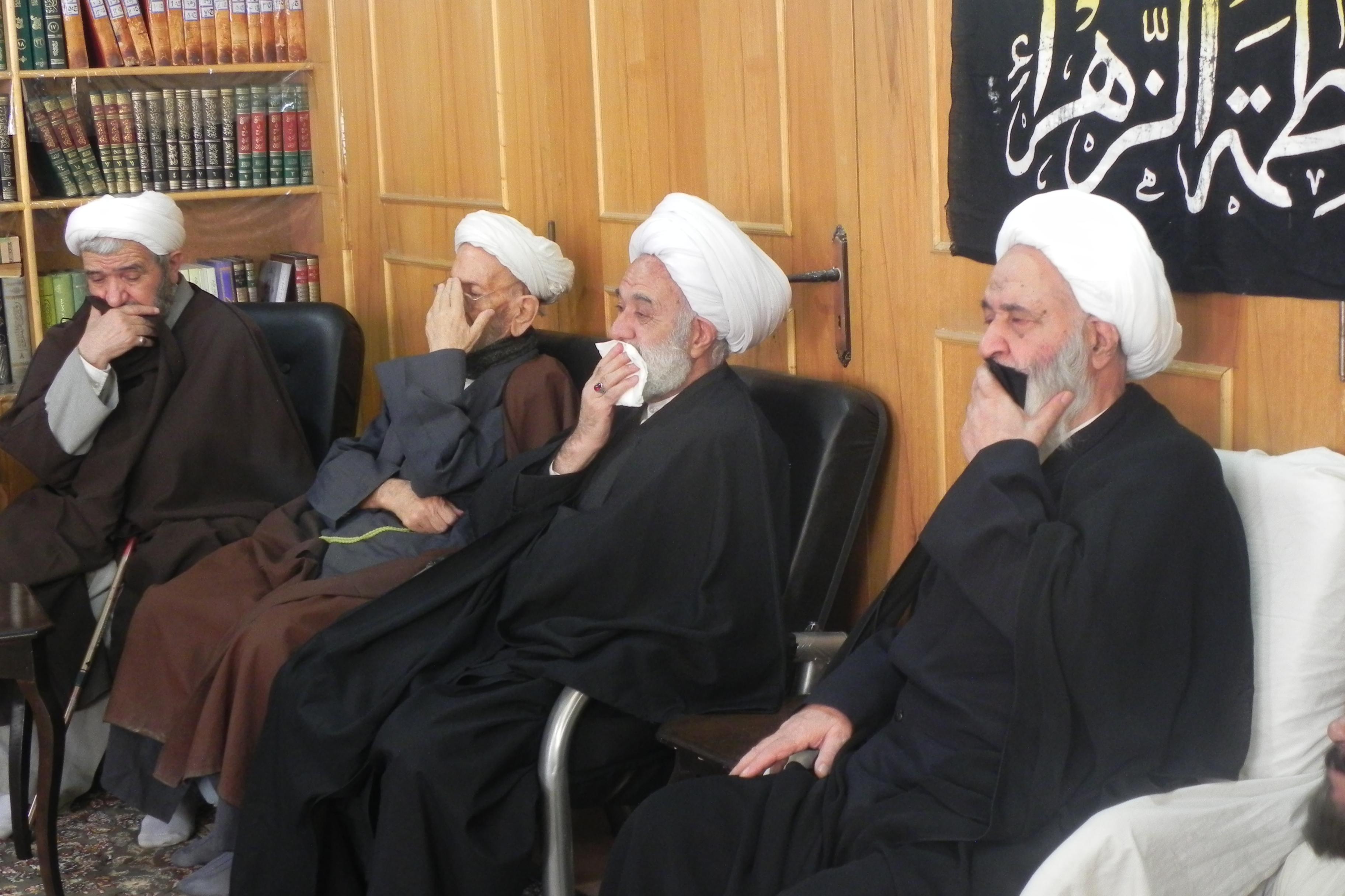 گزارش تصویری مراسم عزاداری شهادت حضرت فاطمه زهرا علیها السّلام در بیت معظم له