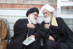 مجلس ختم همشیره آیت الله العظمی دوزدوزانی تبریزی