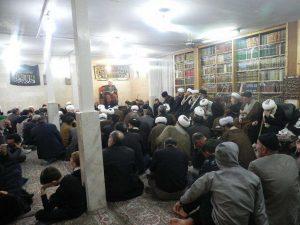 مجلس عزا شهادت حضرت فاطمه سلام الله علیها