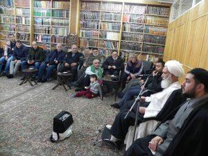 دیدار جمعی از شیعیان آذربایجان با معظم له