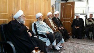 دیدار حجت الاسلام هادی نجفی اصفهانی با آیت الله العظمی دوزدوزانی تبریزی